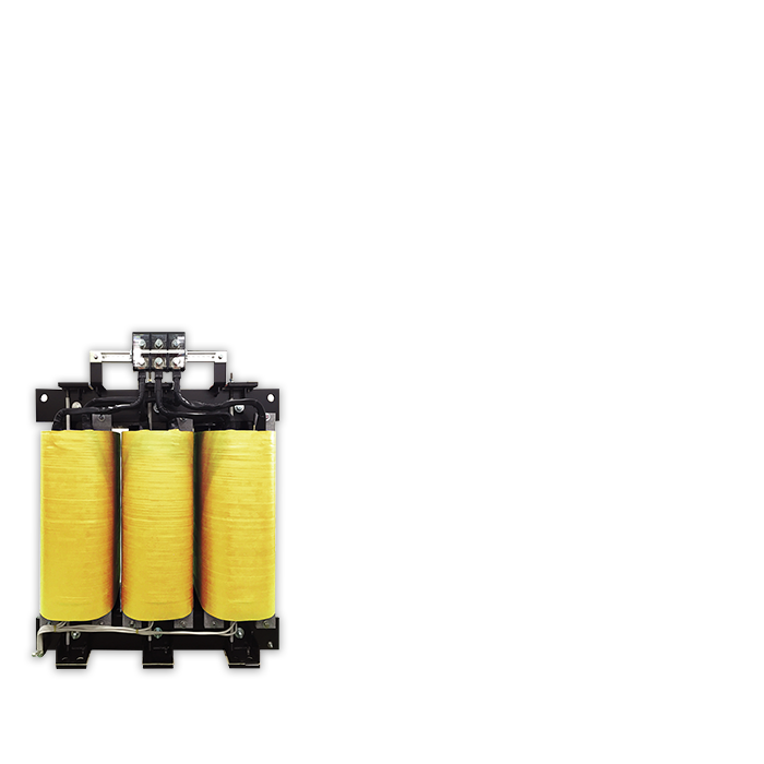 K-Rate Transformer(For Harmonic Measures) Even if the harmonics are contained, This K-Rate Transformer will not over heat. It has been adopted for a lot of data centers.